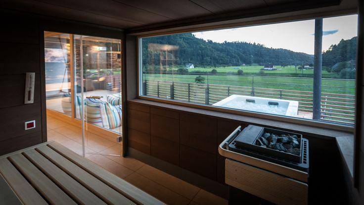 Panorama Sauna im Loft SPA
