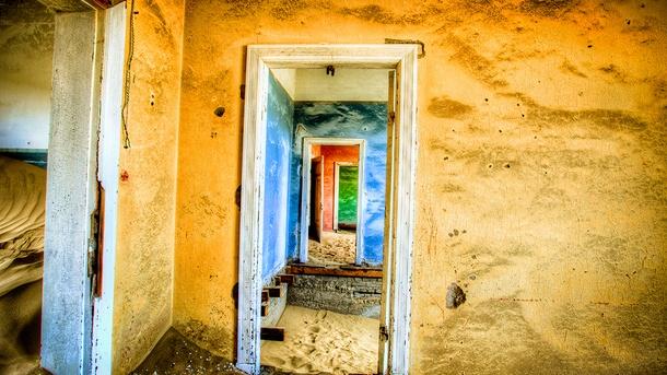 Reiskrant Reporter - Spookstad, Skeleton coast en het rode zand van Namibie