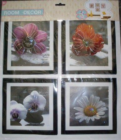3D-s falmatrica VI-006 (virág)