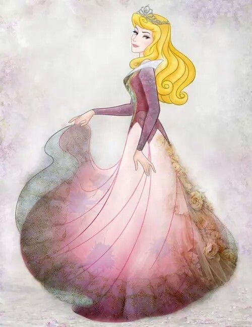 how to make up like princess aurora
