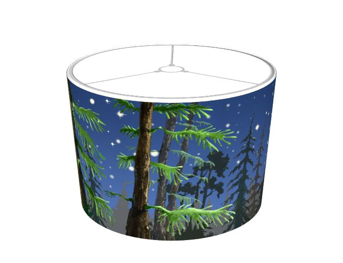 Campfire Tales Lamp. Make your room dazzle with this gorgeous lamp that will evoke the feeling of being in the forest.
