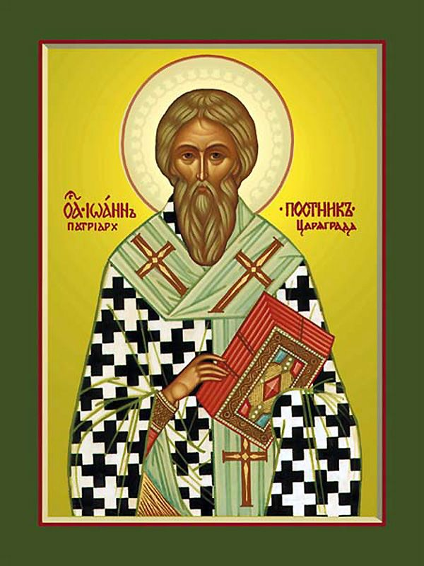 St John the Faster the Patriarch of Constantinople - Orthodox Church in America