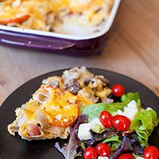 Fast, easy Three #cheese Pasta meal for whole family