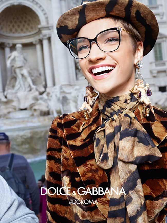 2179bc8b8 Dolce & Gabbana Eyewear Fall Winter 2018 2019 Ad Campaign. #dolcegabbana  #women #