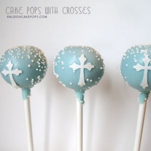 Cake Pop Centerpieces For Baptism : 39 best images about 1st communion on Pinterest Cake pop ...