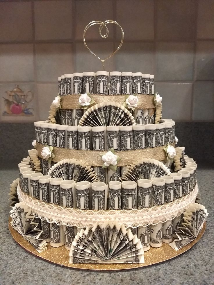 Money Cake – Wedding Cake, Birthday's, Congratulations, Engagement, Retirement, Promotion, Patriotic Party, Great for any Special Occasion