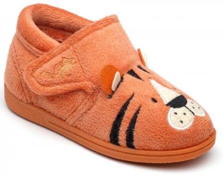 Chipmunks Tommy Orange Slippers