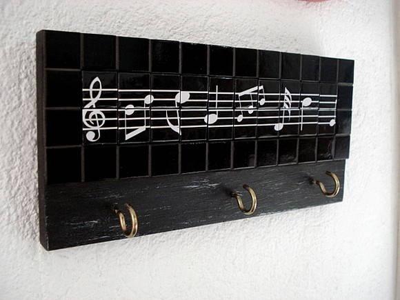 Chaveiro com notas musicais: Notas Musicais, Nota Musicai
