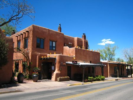 The Pink Abode Restaurant in Santa Fe, NM                                     Someday......I will get back to Santa Fe and savor the spectacular Lobster Salad - sitting at a table near the fireplace burning pinon wood.