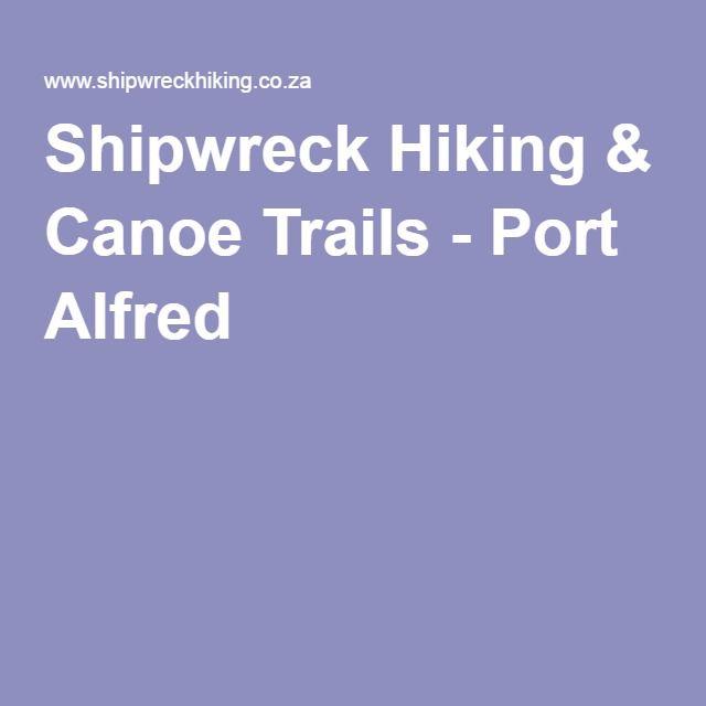 Shipwreck Hiking & Canoe Trails - Port Alfred
