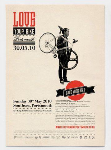 Love yo bike. #brochure  #editorial #graphic  #design #Magazine #Layout