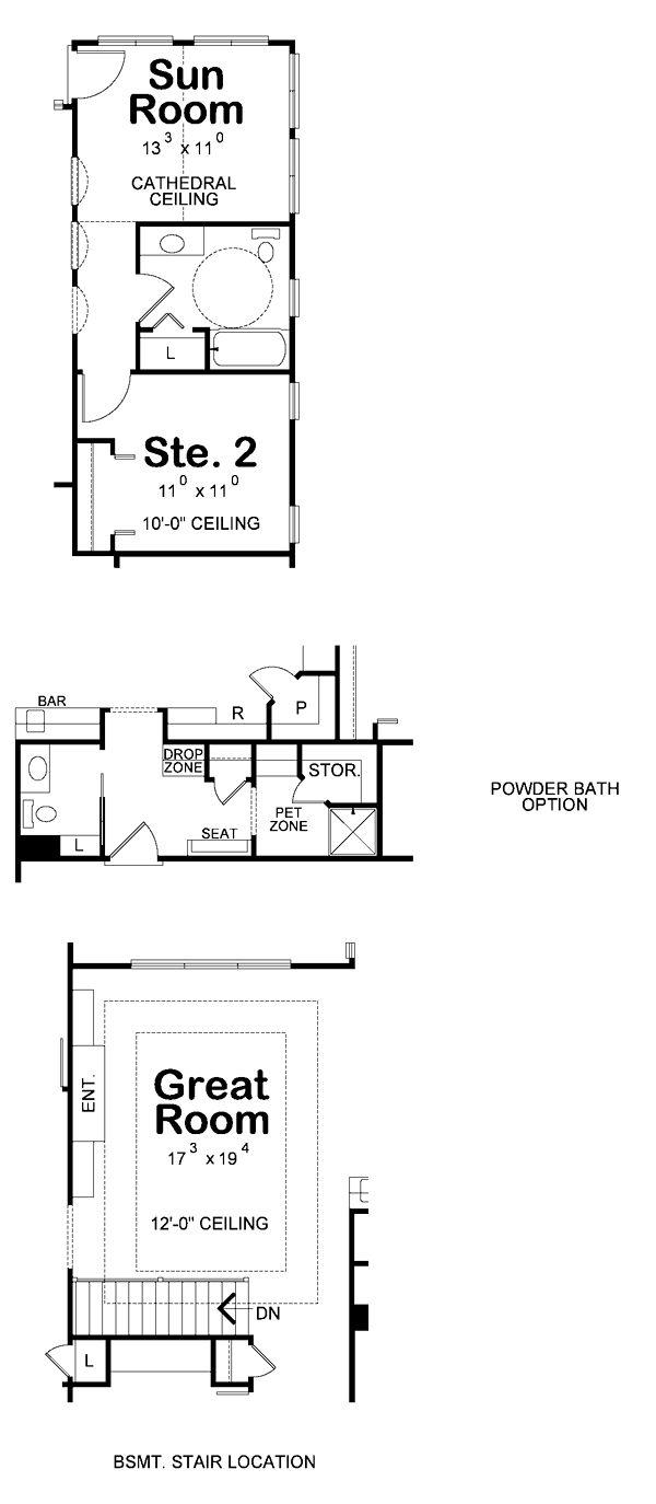 33 best ahp craftsman house plans images on pinterest contemporary european southwest house plan 66723