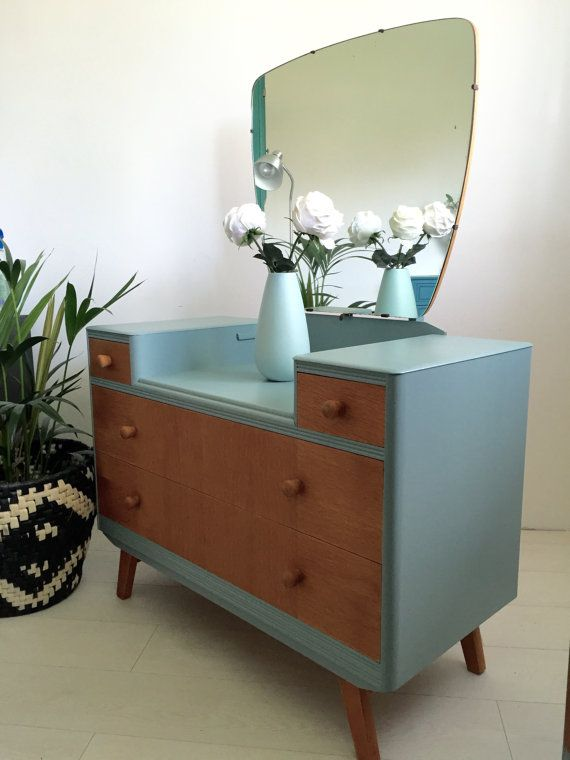 50's 60's Mid Century Dressing Table by BeautifulPigInterior