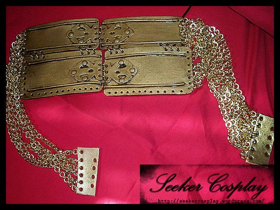 Cersei Lannister Belt by SeekerCosplayShop on Etsy