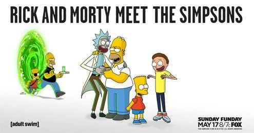 WATCH: Rick and Morty will meet The Simpsons on May 17