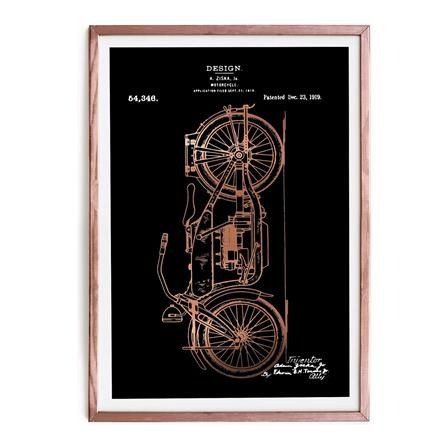Motorcycle Framed Picture