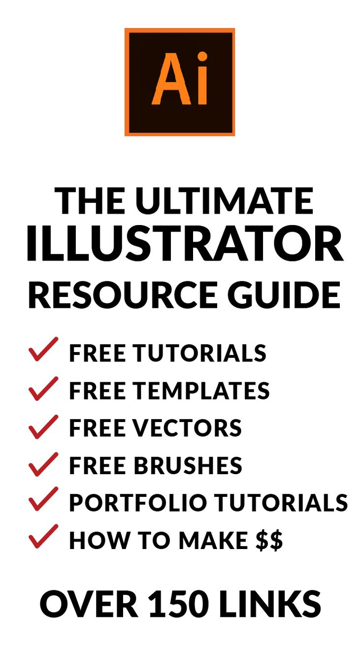 FREE Illustrator tutorials, FREE Illustrator Templates, FREE Illustrator Vectors, FREE fonts, How to build a portfolio tutorials, how to make money with Illustrator tutorials and much much more.