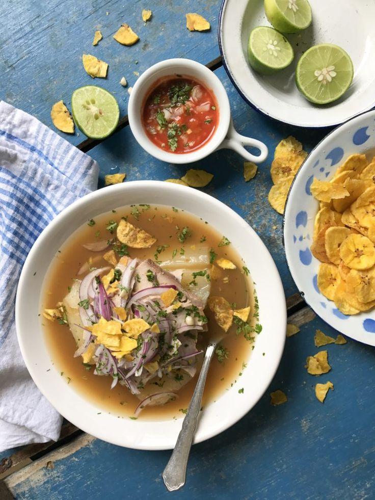 Encebollado - Ceviche, Ecuador, Ramen, Latin Food, Us Foods, Curry, Dishes, Ethnic Recipes, Seafood