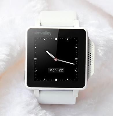 Simvalley 1.5 Smart Watch GSM Mobile Phone Bluetooth Touch Screen Mp3 White SimValley 1.5 Smart Watch GSM Mobile Phone Bluetooth Touch Screen MP3 White.  #Simvalley #Wireless