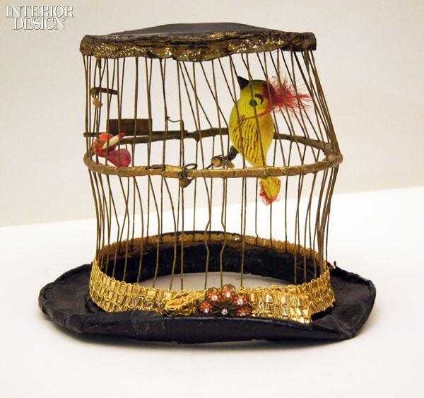 Birdcage hat worn by Felix Adler, ca. 1950. Mixed media. Circus World Museum, Baraboo, Wisconsin