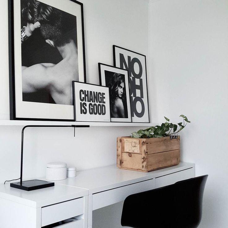1000 ideas about bureau ikea on pinterest desks work. Black Bedroom Furniture Sets. Home Design Ideas