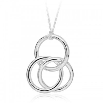 3 ring necklace - $389.95. Available from: http://pennyfarthingkids.com.au/product-category/things-for-gifts/# #penny #farthing #kids #gifts