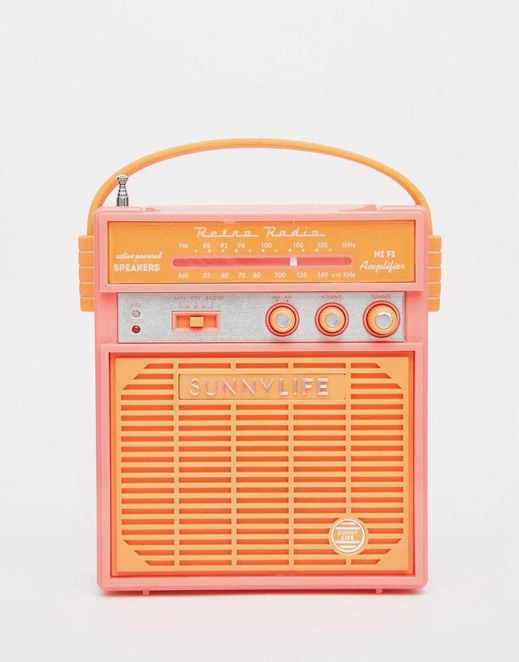 Sunnylife Retro Sounds Radio #technology #cute