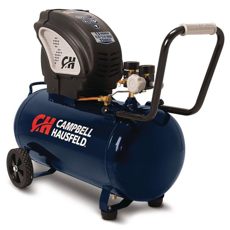 13 Gal. Portable Horizontal Electric Air Compressor