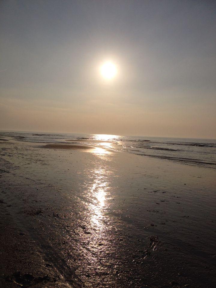 Sunset in Noordwijk, Holland