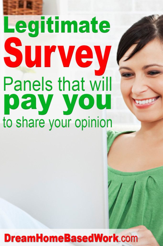 Looking for a legitimate survey company? Here is a huge list of survey panels that will pay you for sharing your opinion.