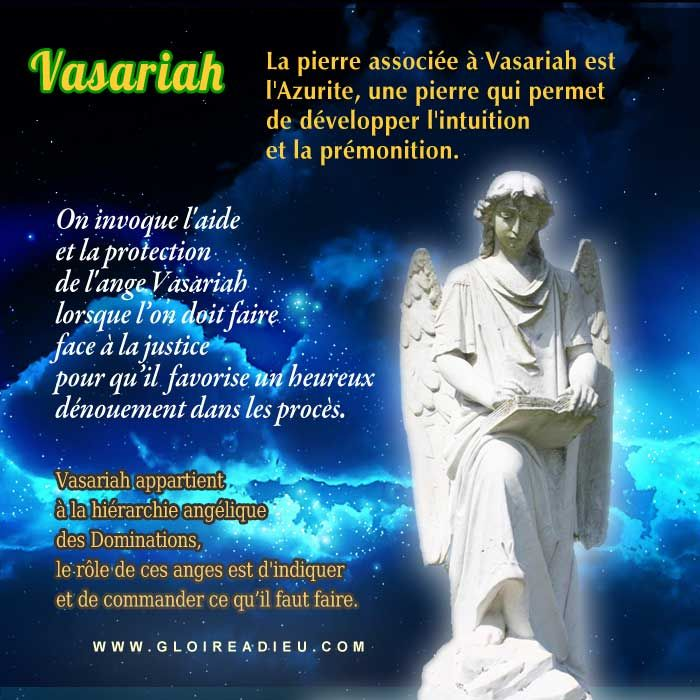 prier ange vasariah pour obtenir la justice