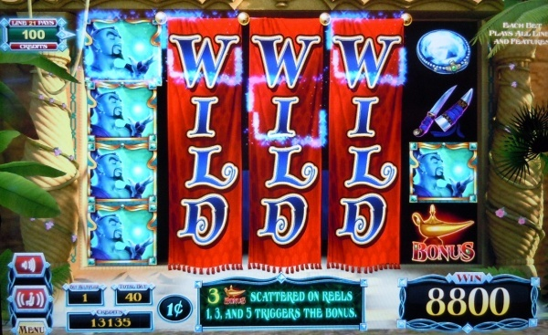 Aladdin & the magic quest slot played in Ceasars Palace casino Las Vegas. 220x total bet win! You can find hundreds of Big Win pictures and videos here: http://www.bigwinpictures.com