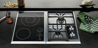 """Wolf 15""""  Integrated Cooktops - contemporary - cooktops - by Rebekah Zaveloff 