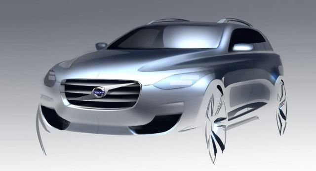 OG | Volvo XC 90 | Design Sketch