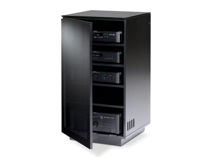 BDI Mirage 8222 Gloss Black TV U0026 Hi Fi Cabinet. Hi Fi U0026 Flat Screen TV  Cabinet. Dedicated Vent Back Panel. Carries Up To 22.5kg/50lbs.u2026 | Pinteresu2026