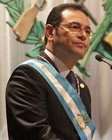 President Jimmy Morales (Guatemala)