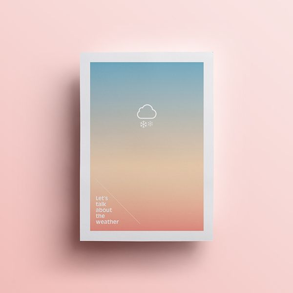 Weather Posters on Behance