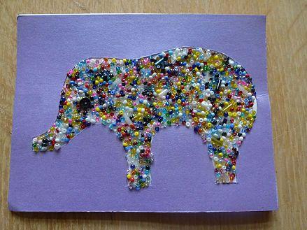 Creadivas Creatips                      Elephant Card  | Tarjeta Elefante | Oliefanten kart