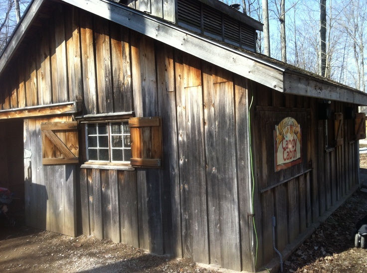 Mounstberg Maple Festival - Candy Cabin. We had an opportunity to sample some delicious Maple fudge here!