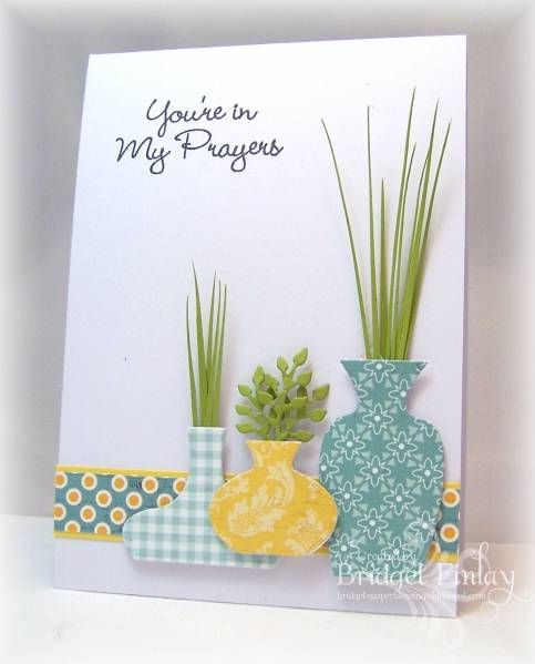 CAS199 Plant Trio by bfinlay - Cards and Paper Crafts at Splitcoaststampers
