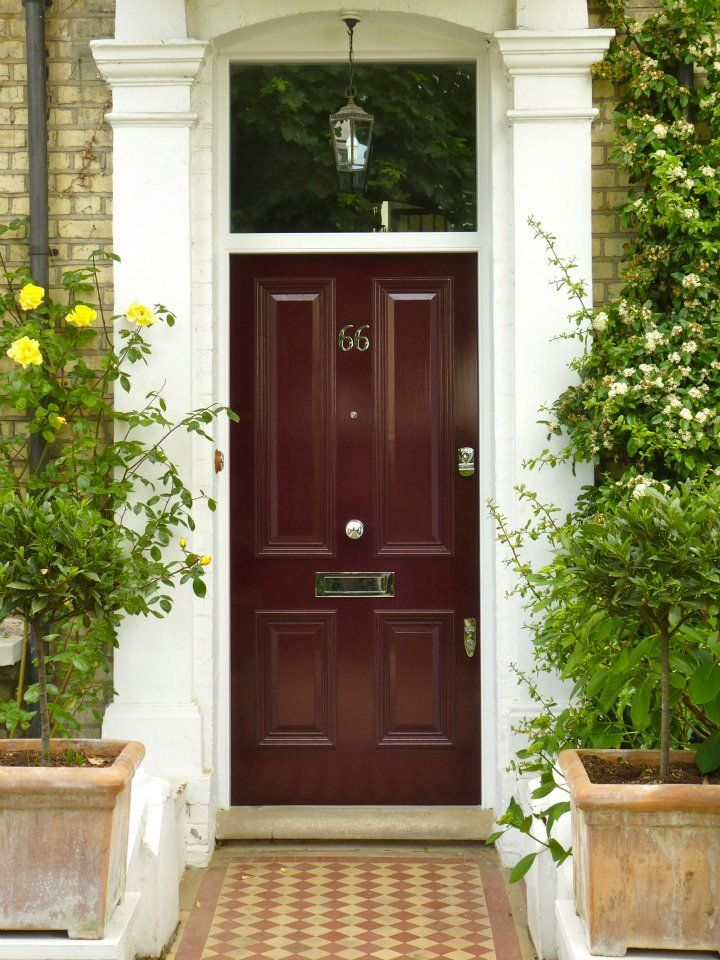 The London Door Company Pink Red Paint Colour Gloss