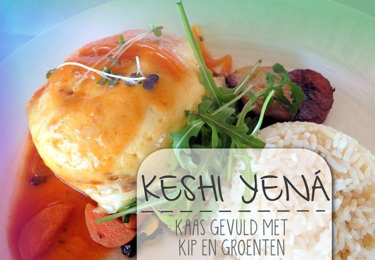 Keshi Yená is een authentiek gerecht dat alleen op de Antillen wordt gegeten. Het stamt uit de koloniale tijd en is een echt slavengerecht. Hetwerd oorspronkelijk gemaakt in een uitgeholde Edammer…