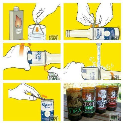 Beer botles♡