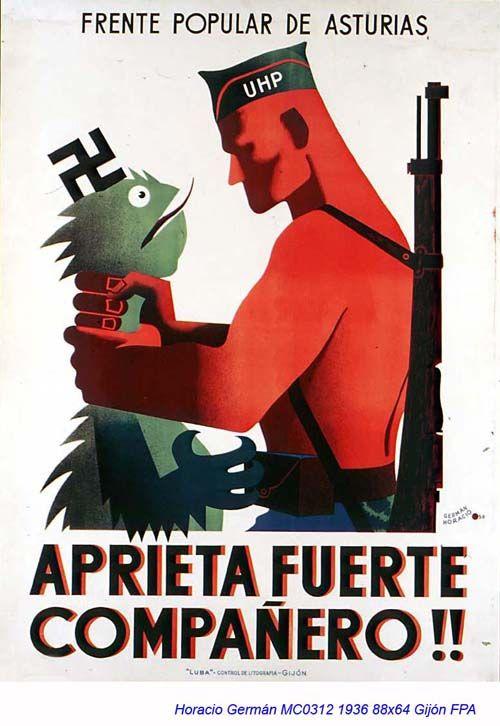 Spain - 1936. - GC - poster - German Horacio Robles