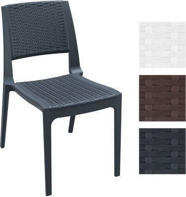 Kunststoff Gartenstuhl VERONA, stapelbar, in Rattan-Optik, Gastro Stuhl XXL 160 kg max. Belastbarkeit, Sitzhöhe 45 cm Jetzt bestellen unter: https://moebel.ladendirekt.de/garten/gartenmoebel/gartenstuehle/?uid=022ee55c-aa0f-52b8-b196-01ed28e05cd2&utm_source=pinterest&utm_medium=pin&utm_campaign=boards #garten #gartenmoebel #gartenstuehle #eckbänke