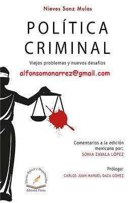 LIBROS EN DERECHO: POLÍTICA CRIMINAL
