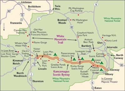 """HowStuffWorks """"New Hampshire Scenic Drives: Kancamagus Scenic Byway"""""""