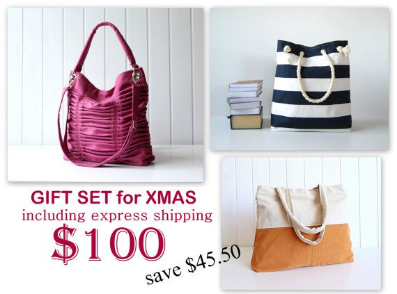 Christmas gifts package / bags / purses / messenger by bayanhippo