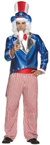 Uncle Sam Men's Costume
