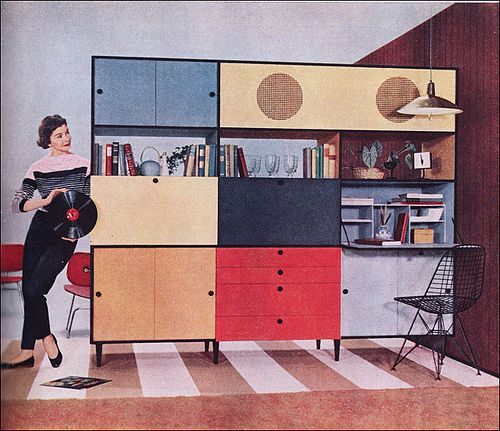 1955 Weldwood Entertainment Center | Flickr - Photo Sharing!